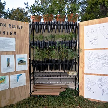 Carbon Relief Center, Bioneers Conference, San Rafael, CA, 2009